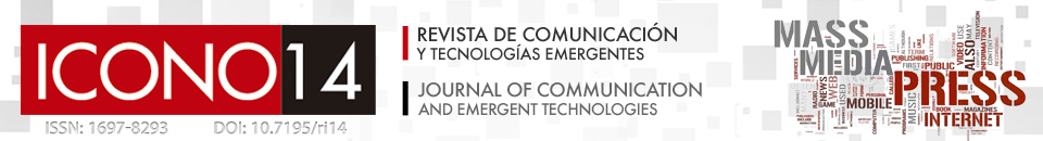 ICONO14 Journal of Communication and Emergent Technologies