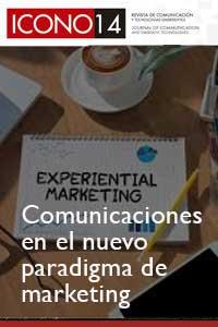 Imagen de portada del número Las comunicaciones en el nuevo paradigma de marketing.